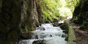 Le Gole dell'Infernaccio sui Monti Sibillini