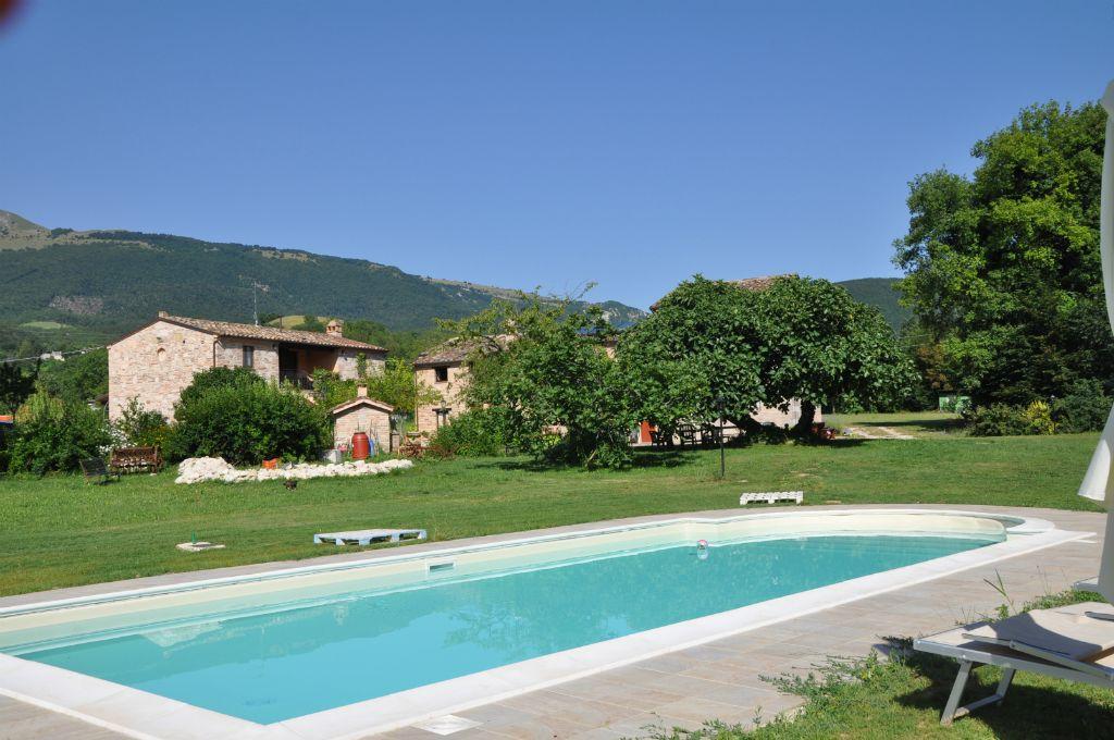 Piscina Country House Antica Dimora Sarnano Monti Sibillini